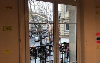 Fenêtre PVC cintrée Paris 75018