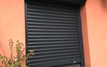 Porte fenêtre PVC et Volet roulant électrique à Bagnolet 93