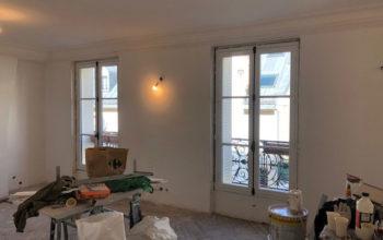 Pose fenêtre PVC oscillo-battante Paris 75011